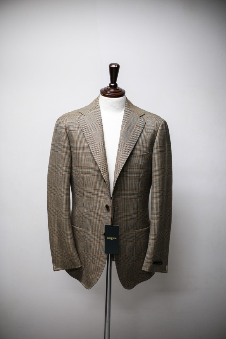 20 S/S Abrahammoon Glen check JacketLamarche Napoli라마르쉐나폴리