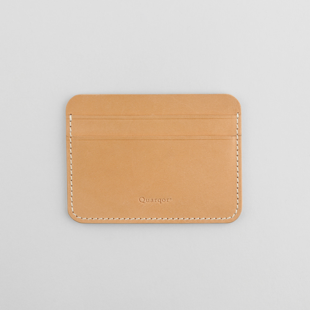 DANIEL CARD WALLET_NaturalQuarqor(쿼르코어)