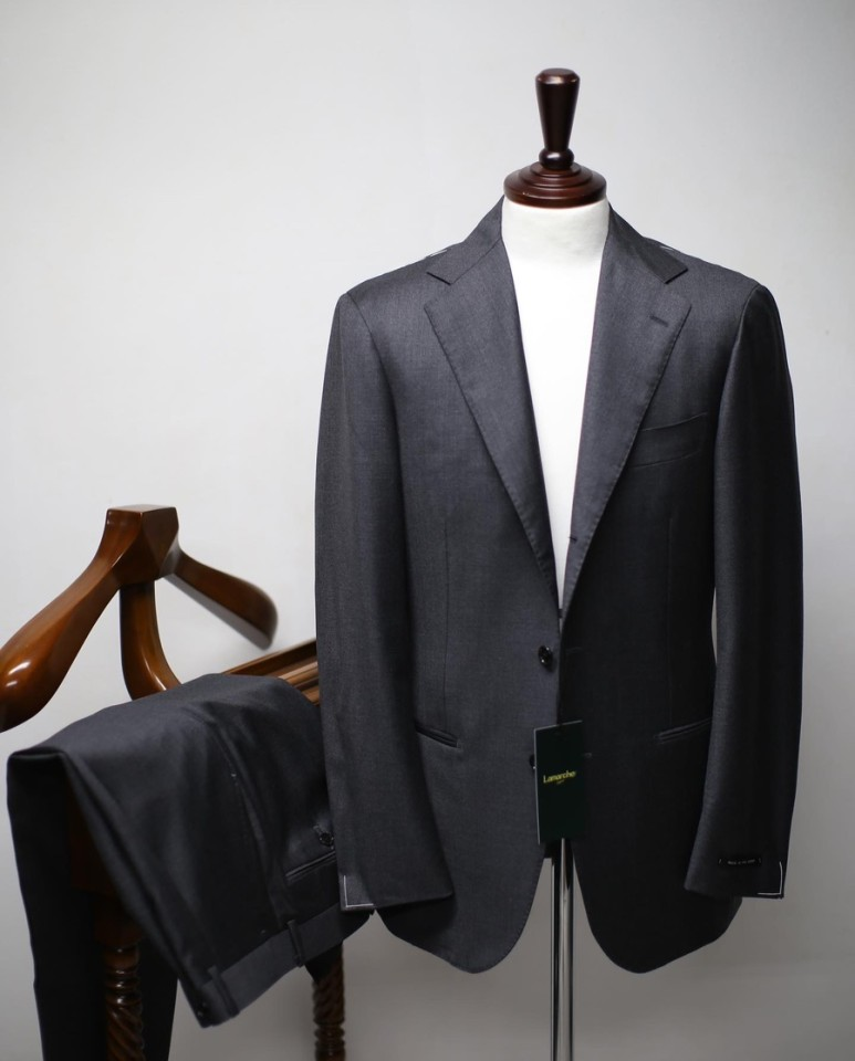 20 S/S Medium Grey SUITLamarche Napoli라마르쉐 나폴리