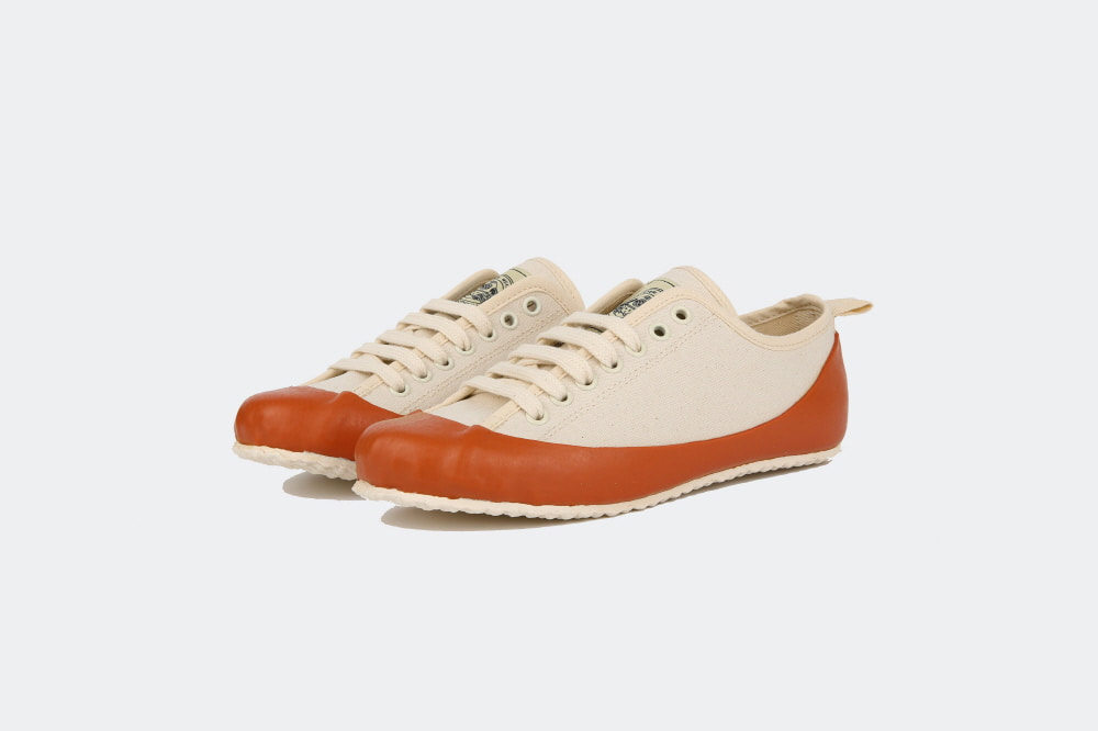 MARINE TYPE2 LACE UP (ECRU/ORANGE)North Sea Clothing(노스씨클로딩)