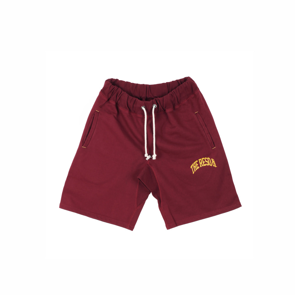 BALLGAME SHORTS [BURGUNDY]THE RESQ&Co(더레스큐컴패니)
