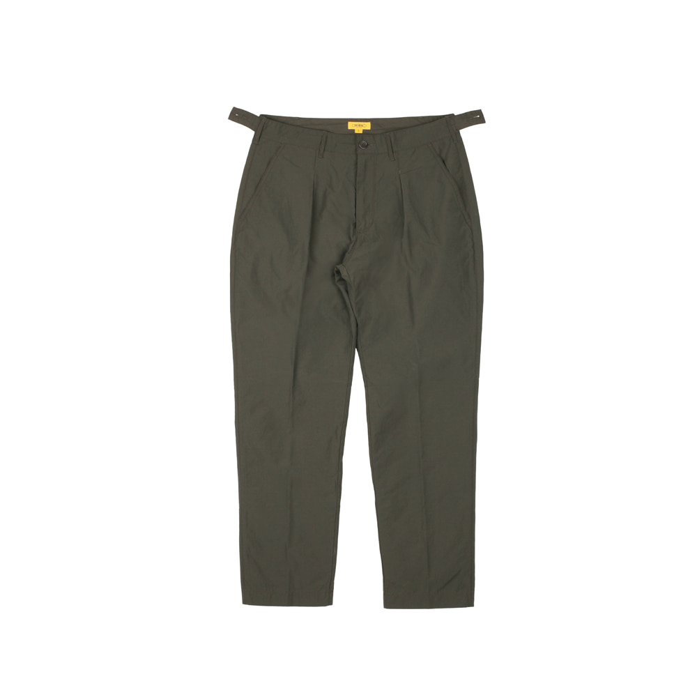 SEOKIA SLACKS [MOUNTAIN GREEN]THE RESQ&Co(더레스큐컴패니)