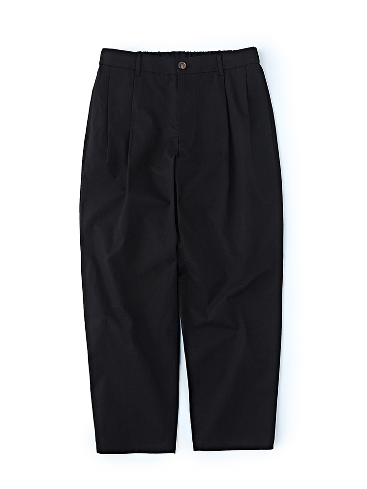 SOHO TAPERED FIT EASY PANTS BLACKDgre(디그레)