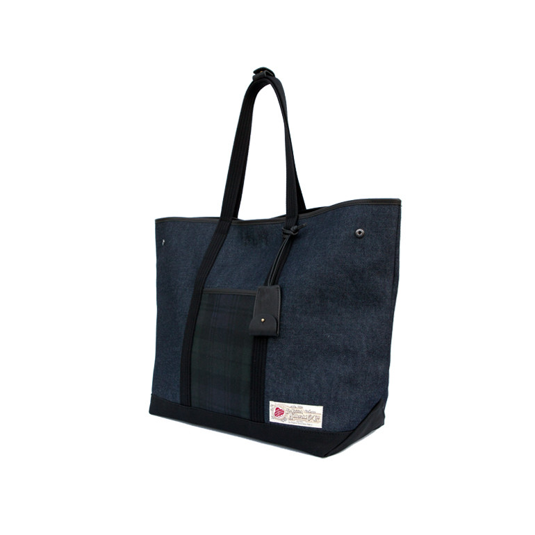 Denim Shoulder Bag 'Wax Pocket'BRASS BOATS(브라스보트)