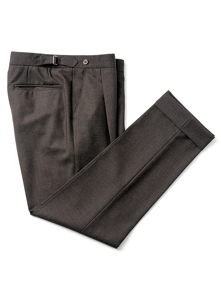 Canonico fresco pants - Brown (4PLY) Estado(에스타도)4월13일부터 배송