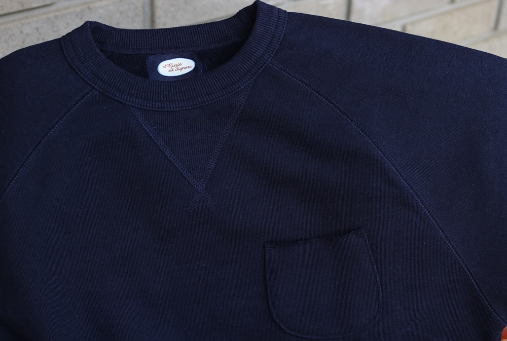 Sweat shirt Navy blueIL GUSTO DEL SIGNORE일구스토델시뇨레