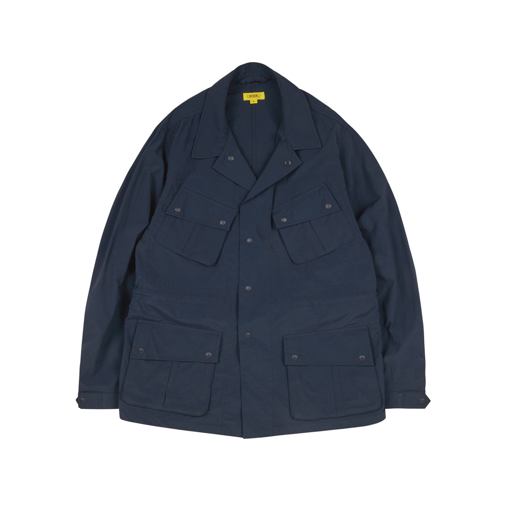 HAVANA JACKET(WASHED NYLON) [PRUSSIAN BLUE]THE RESQ(더레스큐)