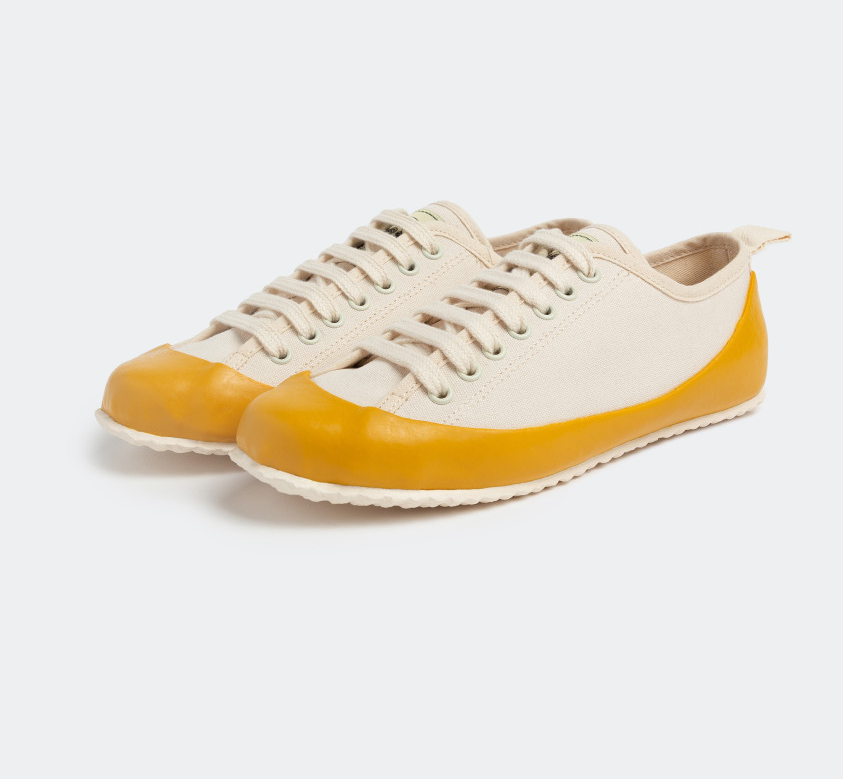MARINE TYPE2 LACE UP (ECRU/YELLOW)North Sea Clothing(노스씨클로딩)