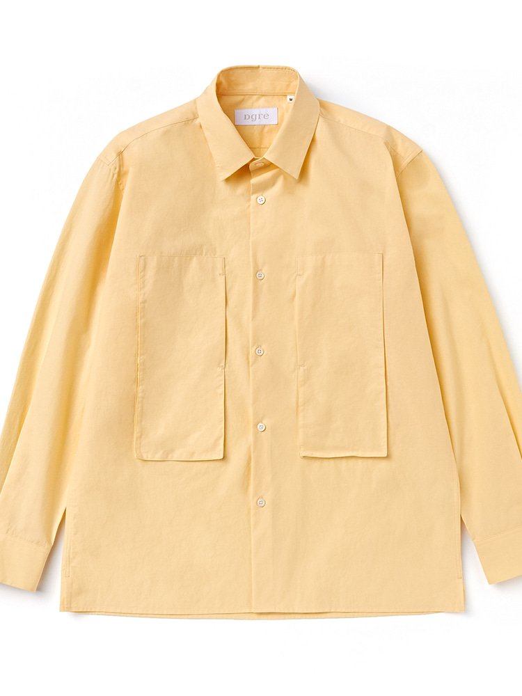 CHART UTILITY SHIRTS YELLOWDgre(디그레)