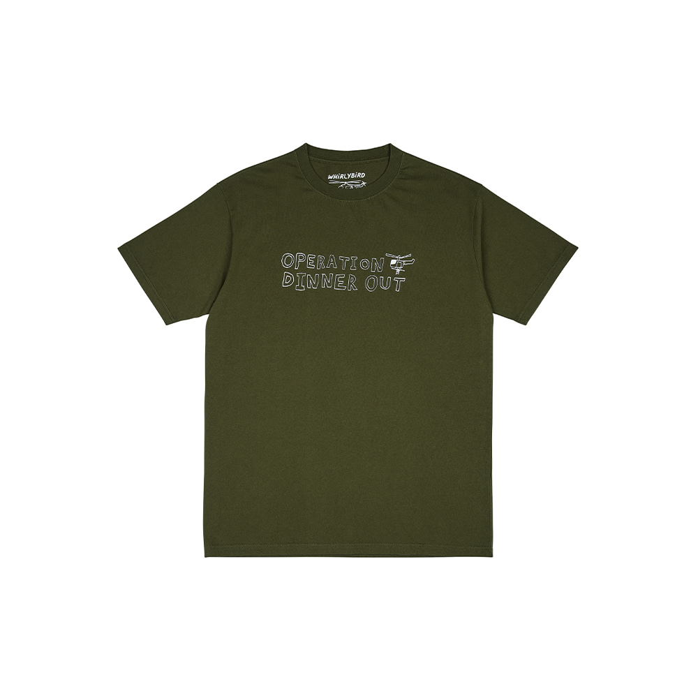 OPERATION TEE [ARMY GREEN]THE RESQ&Co(더레스큐컴패니)